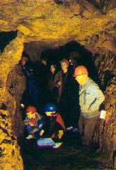 Visitors to the Great Orme Mine